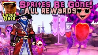 Sprites Be Gone - Getting all the rewards