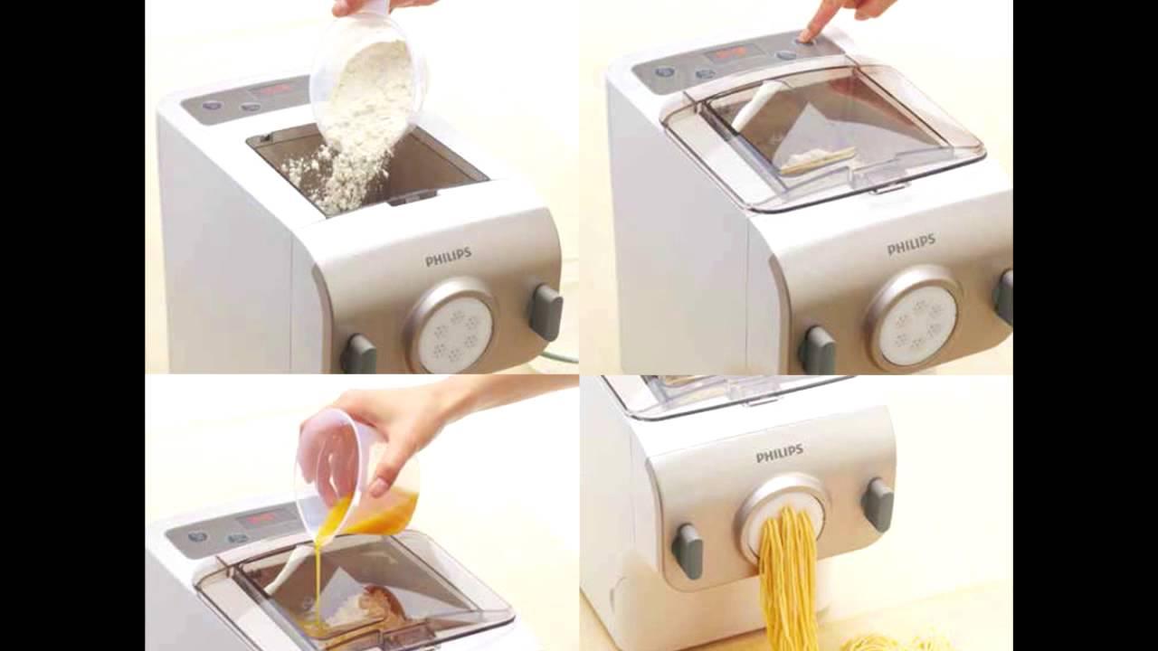 Philips pastamaker maquina para hacer pasta y fideos - Hacer pasta en casa ...