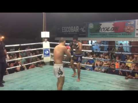 Albert Amirdzhanyan VS Kwanpikart KO, MAX MUAYTHAI Armenia Muaythai Federation 13.01.2017