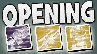 Destiny - ENGRAM OPENING !!