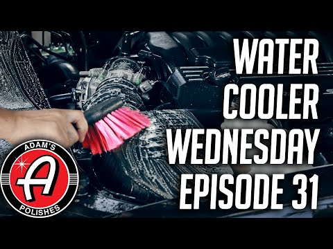 Cleaning and Dressing Your Engine Bay | Adam's Polishes Water Cooler Wednesday Episode 31