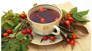 Завариваем чай из шиповника