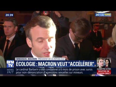 """Grand débat: pour Emmanuel Macron, """"il y avait besoin de ce moment démocratique, d'échange"""""""