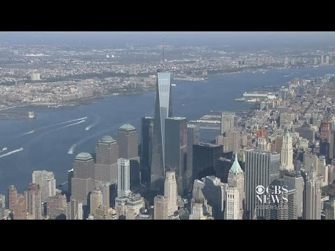 One World Trade Center opened for business