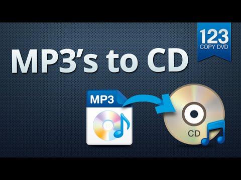 123 Copy DVD  MP3 files to CD