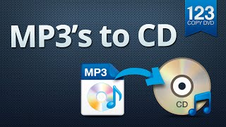 123 Copy DVD - MP3 files to CD