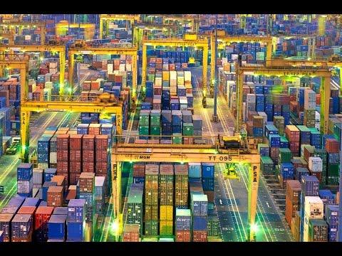 Los 10 puertos de contenedores mas activos del mundo - List of world's 10 busiest container ports