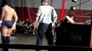 Zema Ion & Tony Nese exchange chops in IWC