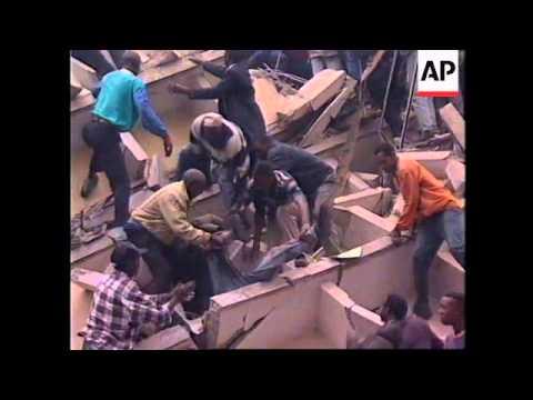 KENYA: NAIROBI: SCORES KILLED IN US EMBASSY BOMB ATTACK