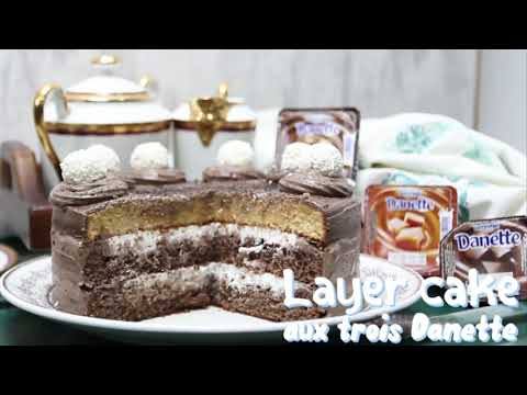 layer-cake-aux-trois-danette---لاير-كيك-بثلاث-دانيت
