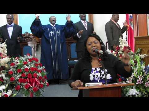 Nan'm mwen chanté Nom ou Bondye puissan