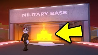 JAILBREAK AREA 51 MILITARY BASE UPDATE | Roblox Jailbreak Military Base Idea (NEW)