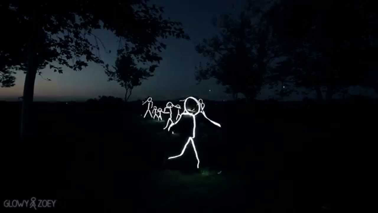 glowy zoey led stick figure costumes are here youtube - Halloween Led Costume