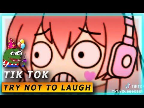 Gacha TIK TOK compilation 😈TROLLS  TRY NOT TO LAUGH 😈BEST v1👹
