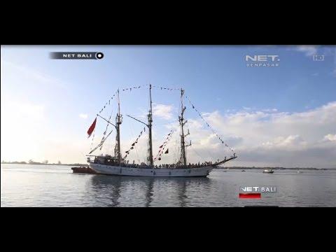 NET. BALI - KRI DEWARUCI BERSANDAR DI PELABUHAN BENOA