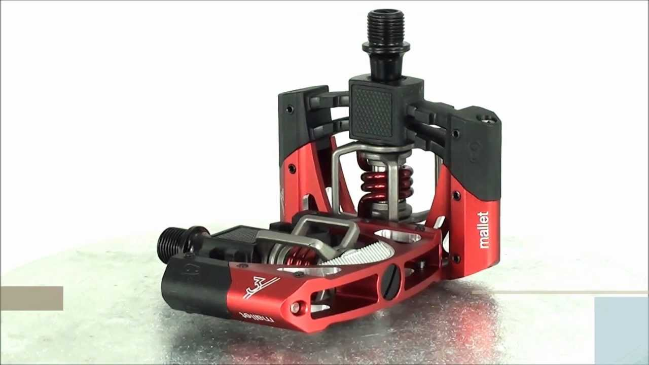 0624889655d Crank Brothers Mallet 3 Pedals - YouTube