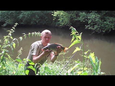 Рыбалка на малой реке. Как всегда быть с уловом.