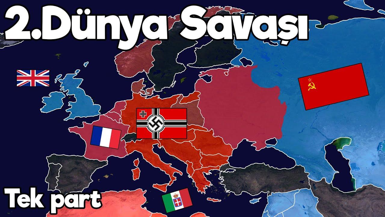 II. Dünya Savaşı - Animasyonlu Haritalı Anlatım - Tek Part