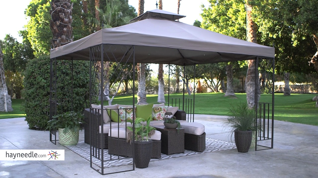 Belham Living Parlay 10' x 12' Gazebo Canopy - Product Review Video