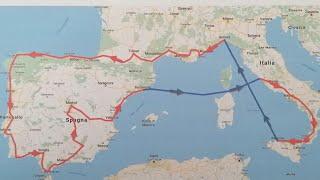 Viaggio in moto-Tour 2019- Francia Spagna Portogallo