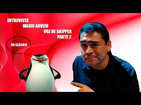 Playcam Especial: Mario Arvizu Voz de Skipper, Heimdall, Superman y más!! Parte 2