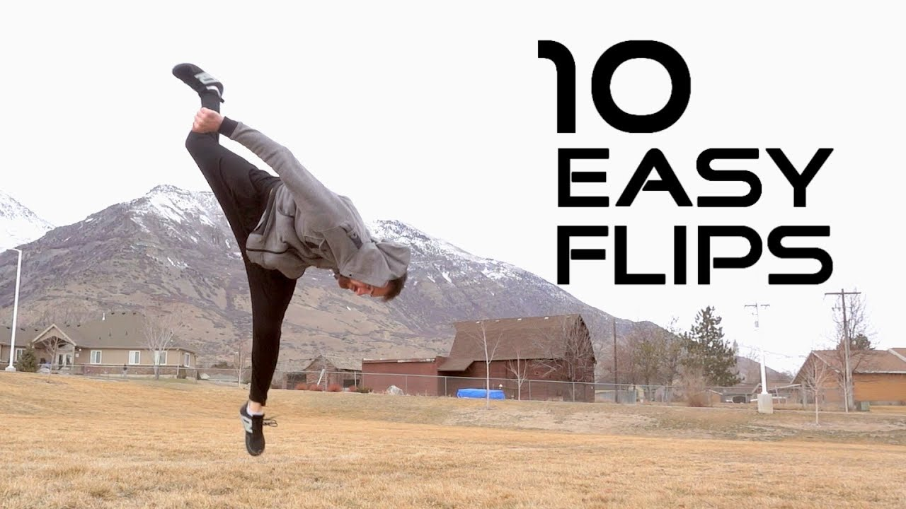 How to learn to do flips at home: safety and technology 66