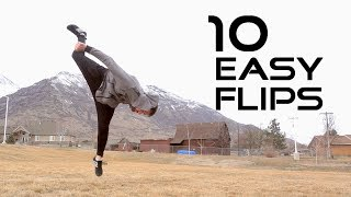 10 Flips Anyone Cąn Learn - Flip Progressions