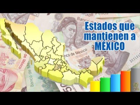 Qué estados mantienen a México?