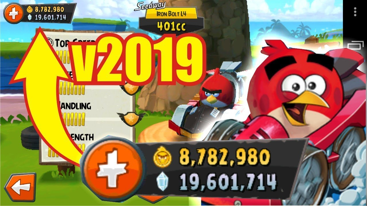 NO ROOT] Angry Birds Go Mod Apk 2019 Unlimited Gems Coins - YouTube