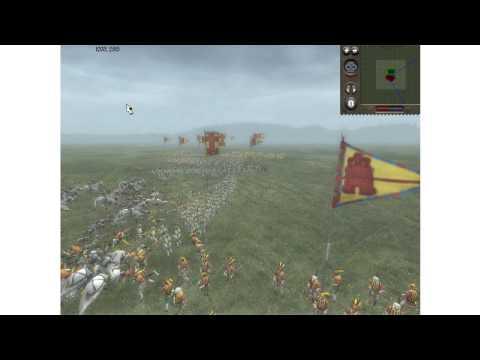 Medieval 2 Total War Online Battle #1 Portugal vs Spain