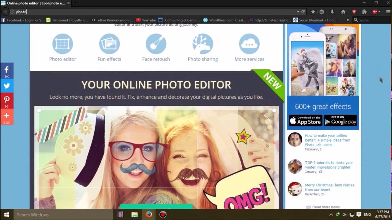 Fun photo editing sites online #2