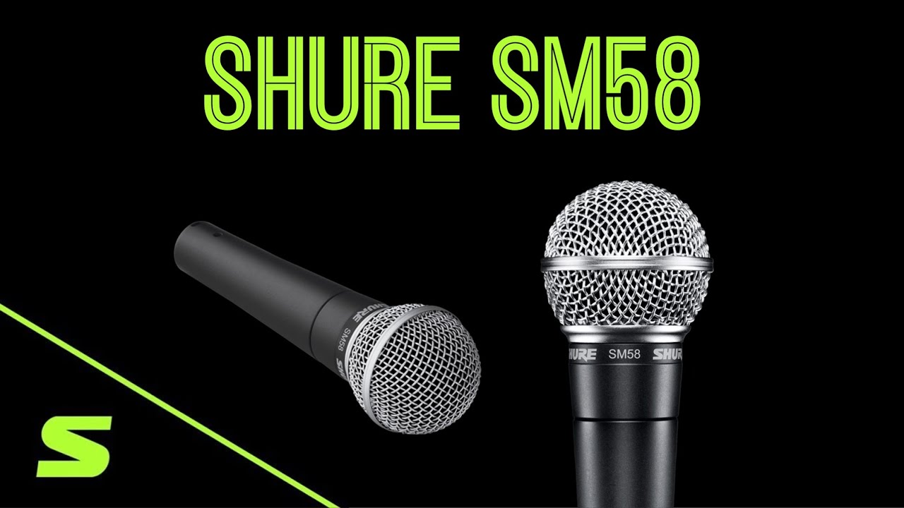 Microfone SM58 - O microfone mais popular do mundo