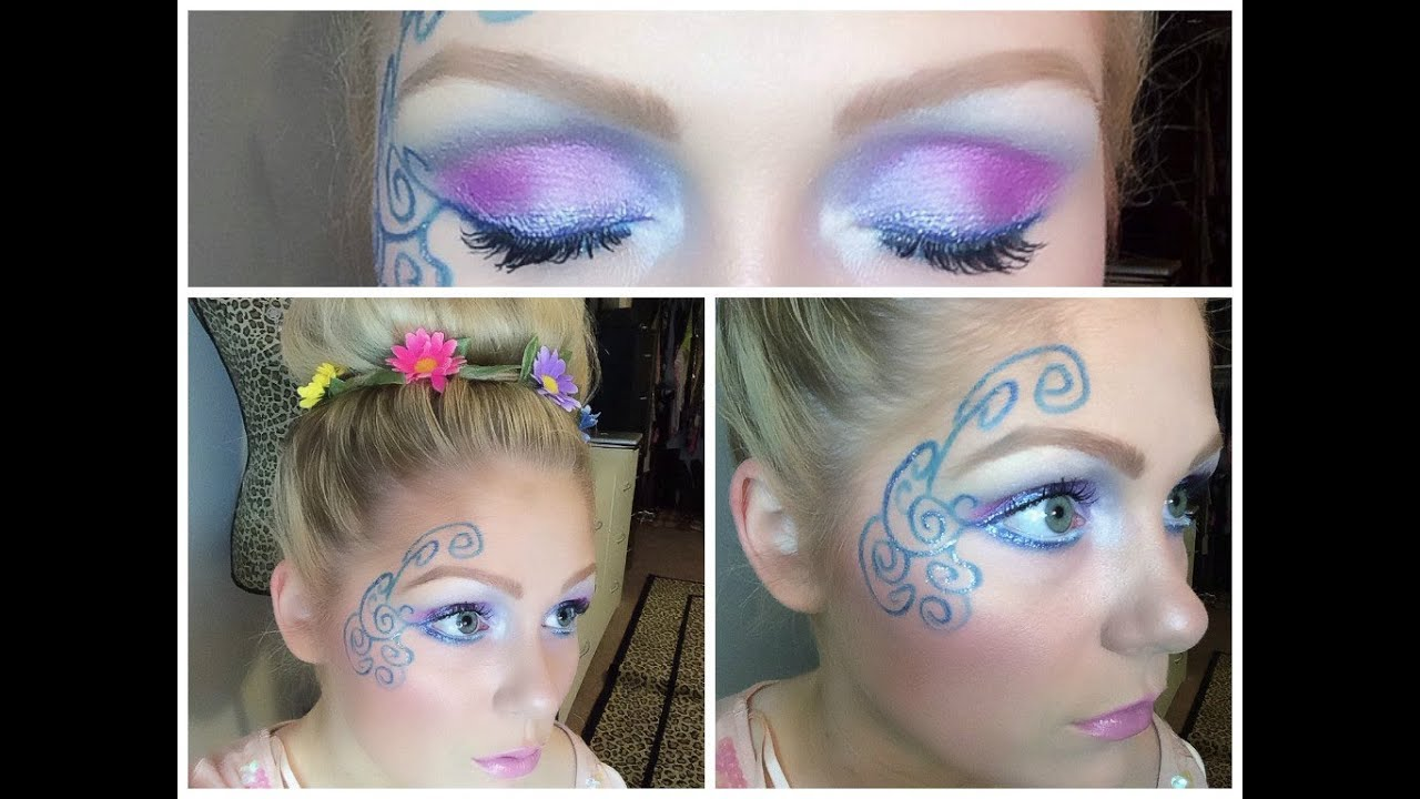 Fairy halloween makeup tutorial youtube baditri Images