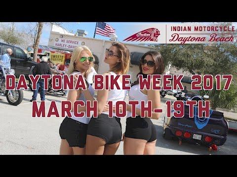 2016 Biketoberfest Indian Motorcycle Daytona Beach