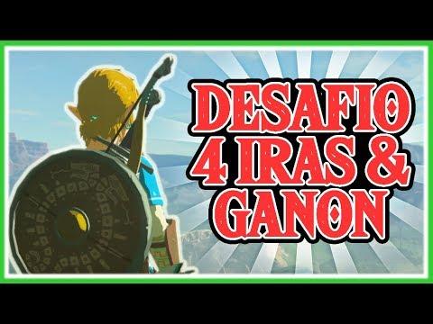 DESAFIO ZELDA BREATH OF THE WILD - Matar a Ganon y todas las iras sin las Bestias Divinas