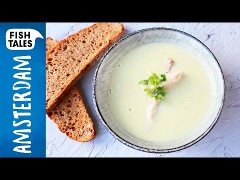 Celeriac Soup & MACKEREL | Bart van Olphen