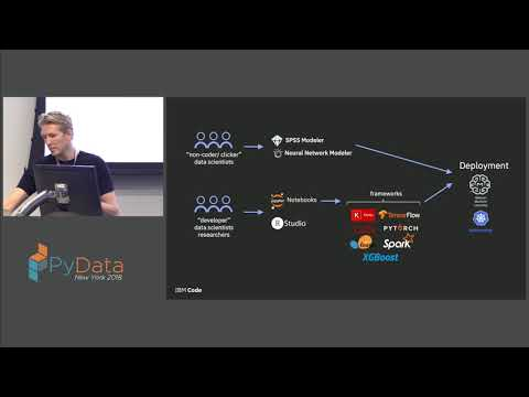 The Lifecycle of Artificial Intelligence with IBM's Deep Learning as a Service - Justin McCoy