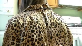 "ASMR Back Rub with a ""Silk"" Pajama Shirt"