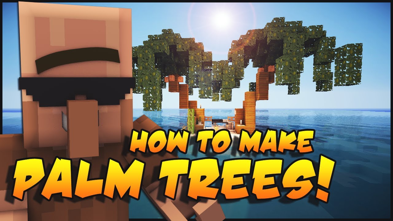 Minecraft: Make Palm Trees - YouTube