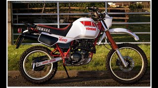 "(NOW SOLD) FOR SALE £3,500 1984 Yamaha XT600 ""Tenere"" Walk around with engine running"