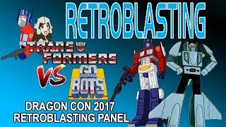 Dragon*Con 2017 Transformers vs. GoBots RetroBlasting Panel