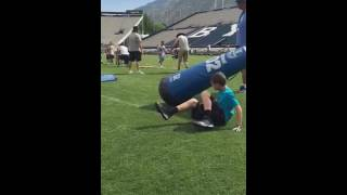 Zach Steadham byu football camp 2016