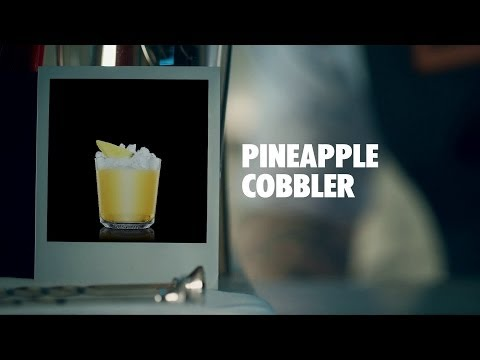 PINEAPPLE COBBLER DRINK RECIPE - HOW TO MIX