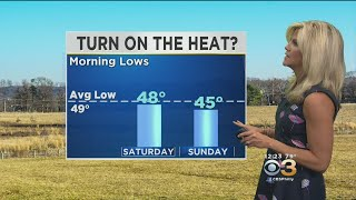 Midday Weather Forecast: Drastic Temperature Drop