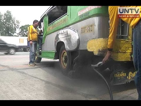 DENR: Motor vehicles account for 80% of air pollution in Metro Manila