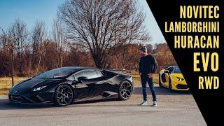 world's first Novitec Lamborghini Huracan EVO RWD / The Supercar Diaries