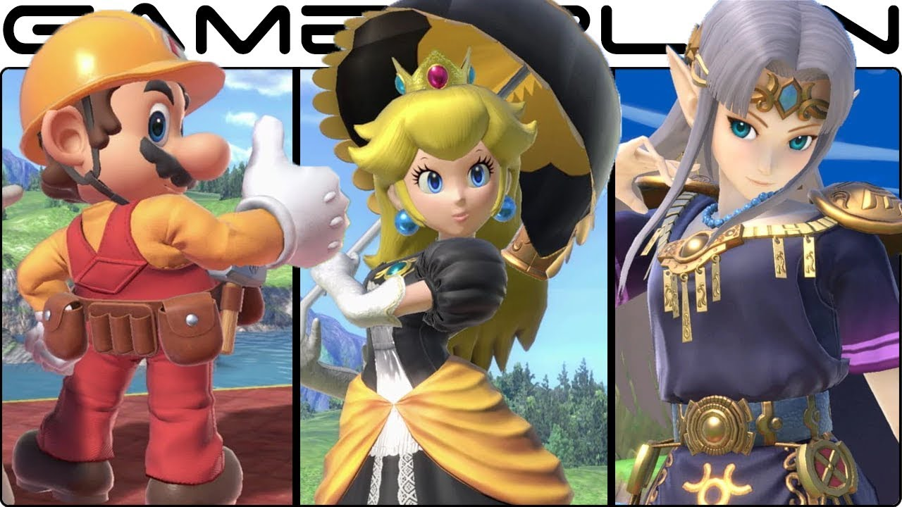 Super Smash Bros  Ultimate - All Alternate Costumes & Colors! (240+ Total!  - E3 Demo)