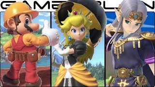 Super Smash Bros. Ultimate - All Alternate Costumes & Colors! (240+ Total! - E3 Demo)