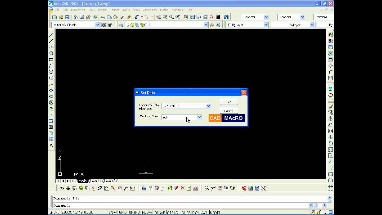 CAD MAcRO - MacroWire @ AutoCAD