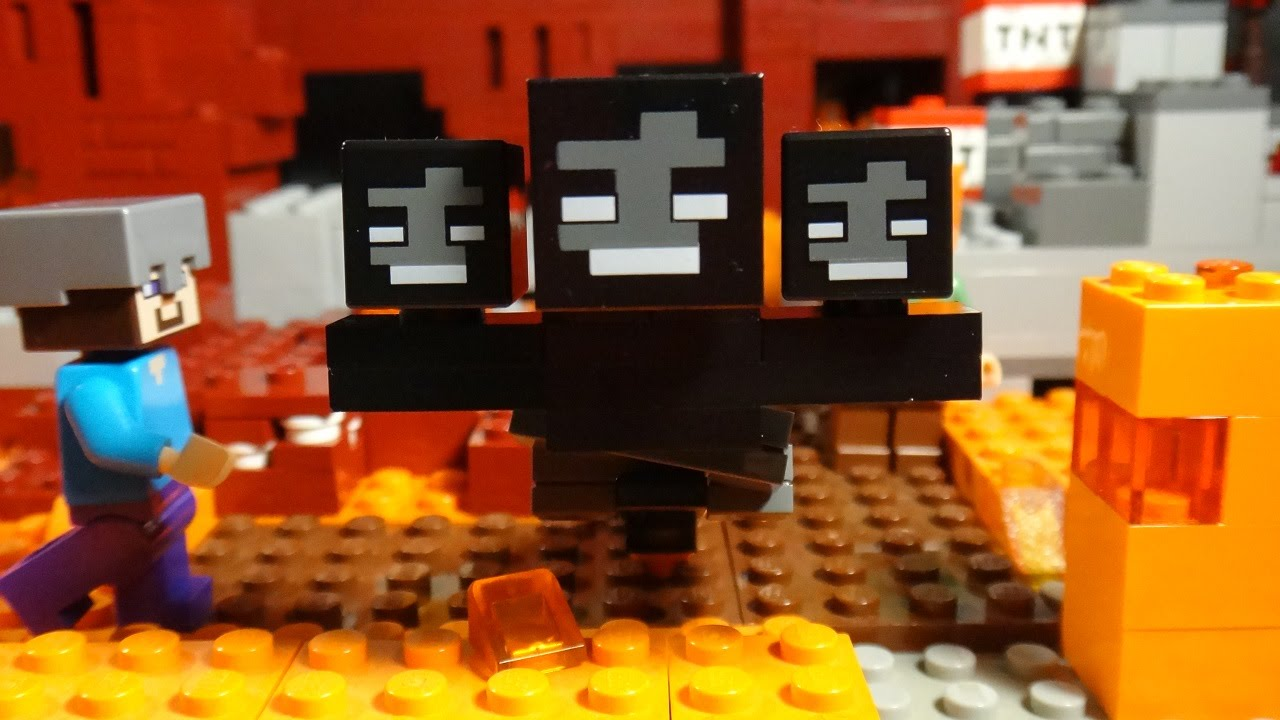 Lego Minecraft The Wither Youtube